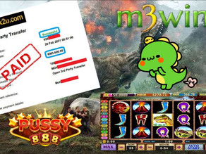 T-REX slot game tips to win RM3600 in Pussy888