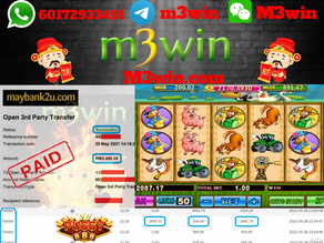 Twister slot game tips to win RM3400 in Pussy888