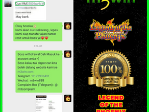 Legend Of Phoenix Fishing game tips to win RM3500 in Suncity2