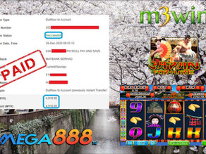 Japan slot game tips to win RM4910 in Mega888