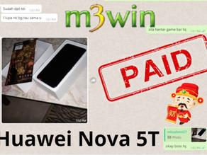 M3win Lucky Draw - Huawei Nova 5T (2)