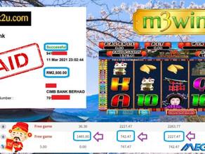 Japan slot game tips to win RM2500 in Mega888