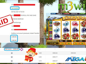 Bonus Bear slot game tips to win RM3500 in Mega888