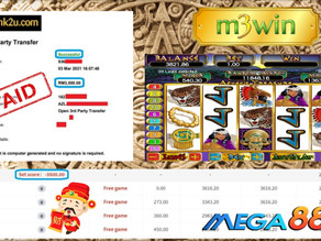 Aztec slot game tips to win RM3500 in Mega888