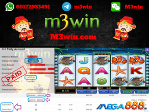 Dolphin Reef slot game tips to win RM4300 in Mega888