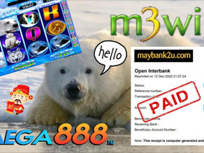 Iceland slot game tips to win RM4760 in Mega888