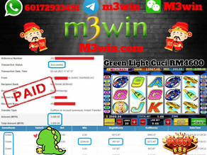 Green Light slot game tips to win RM3000 in Pussy888