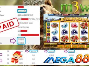 Bonus Bear slot game tips to win RM3500 in Mega888