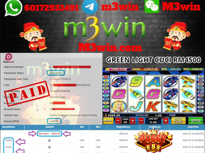 Green Light slot game tips to win RM4500 in Pussy888
