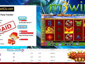 Fei Long Zai Tian slot game tips to win RM3500 in Pussy888