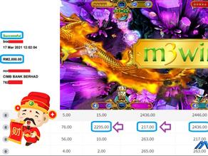 Ocean King fishing game tips to win RM2800 in Mega888
