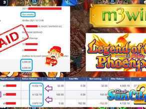 Legend Of Phoenix Fishing game tips to win RM4000 in Suncity
