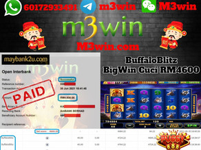 BuffaloBlitz slot game tips to win RM4600 in Pussy888