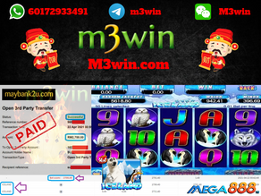 Iceland slot game tips to win RM2700 in Mega888