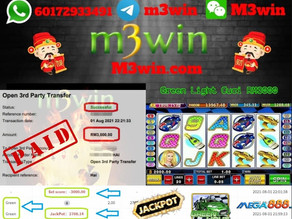 Green Light slot game tips to win RM3000 in Mega888