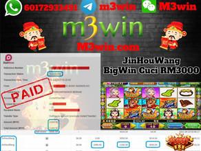JinHouWang slot game tips to win RM3000 in Pussy888