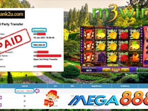 Fairy Garden slot game tips to win RM3000 in Mega888