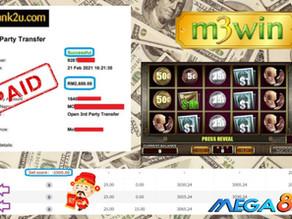Money Fever slot game tips to win RM2600 in Mega888