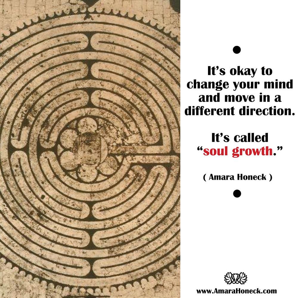 Ancient Labyrinth | Spiritual Growth Article | Amara Honeck | Tennessee Shaman Consciousness Exploration Teacher