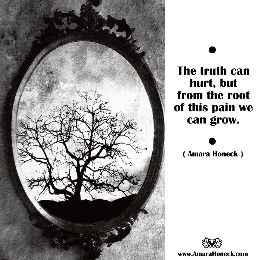 Tree Inside Mirror | Spiritual Growth Article | Amara Honeck | Tennessee Shaman Consciousness Exploration Teacher