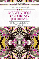 Meditation Coloring Journal Book 2 | Law of Attraction and Manifestation | Tennessee Shaman | Amara Honeck