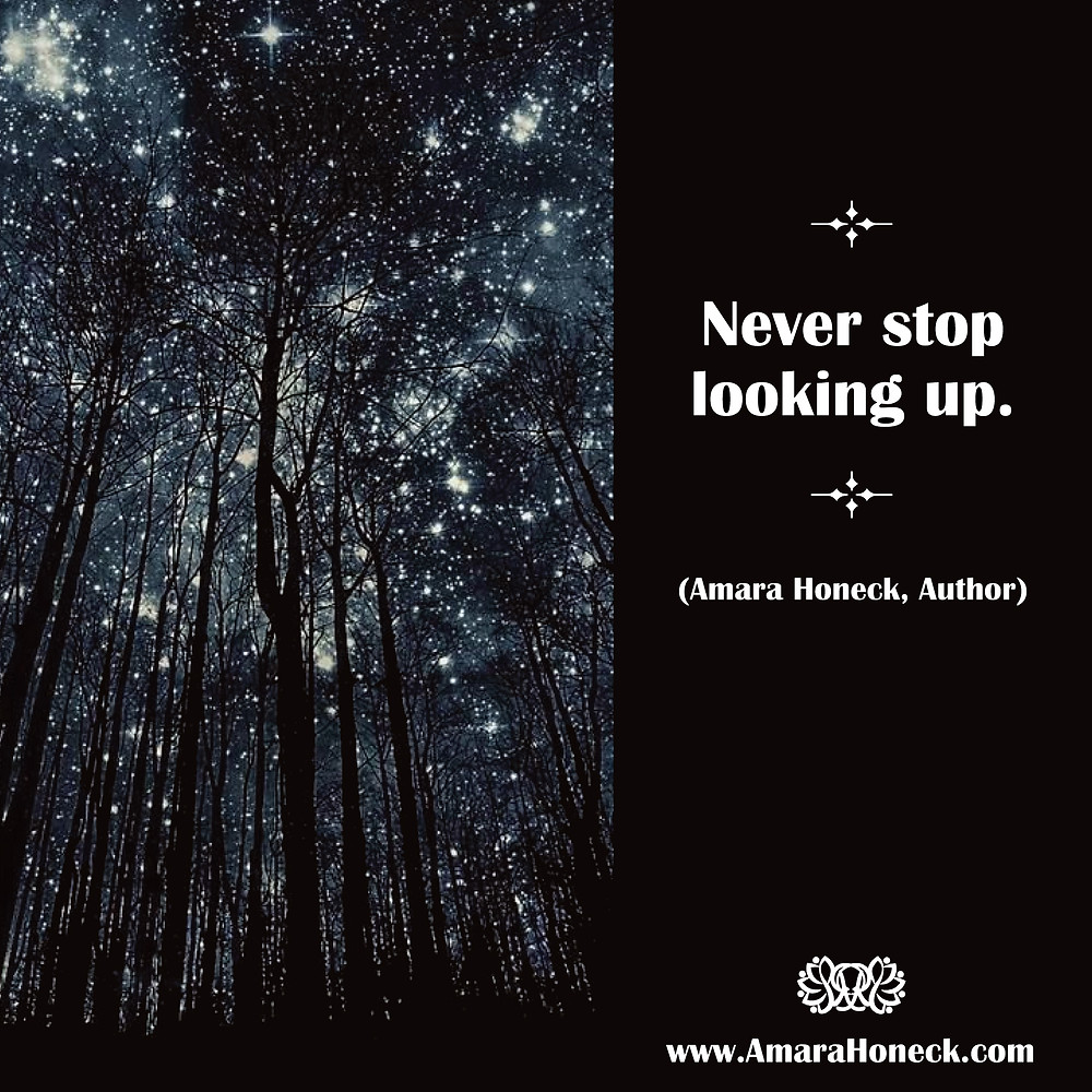 Trees With Starry Sky | Spiritual Growth Article | Amara Honeck | Tennessee Shaman Consciousness Exploration Teacher