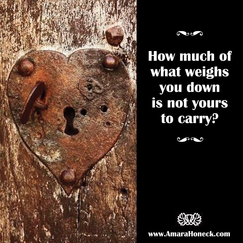 Rusty Heart Lock | Spiritual Growth Article | Amara Honeck | Tennessee Shaman Consciousness Exploration Teacher