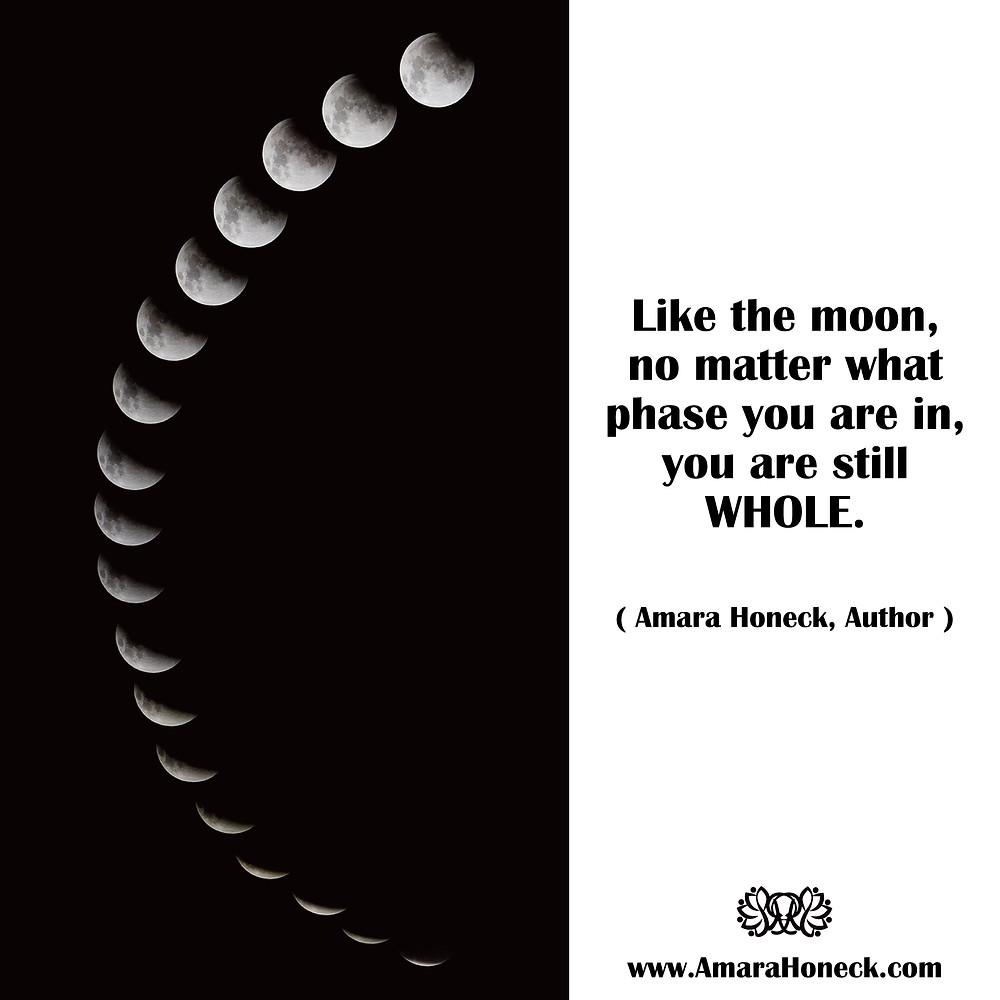 Lunar Cycles | Spiritual Growth Article | Amara Honeck | Tennessee Shaman Consciousness Exploration Teacher