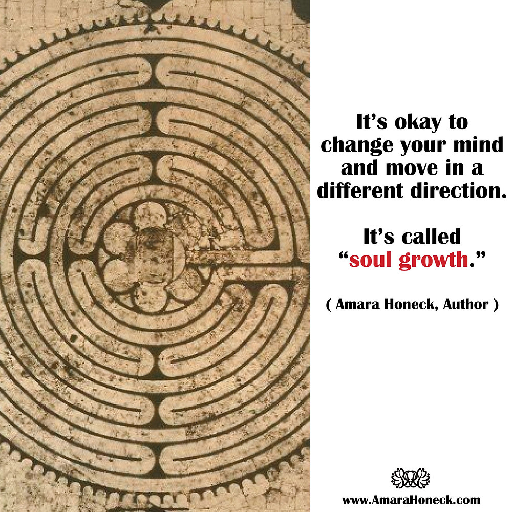 Ancient Labyrinth | Spiritual Growth Article | Amara Honeck | Tennessee Shaman Consciousness Exploration Teacher