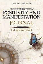 Creative Meditaton Positivity and Manifestation Journal - Amara Honeck