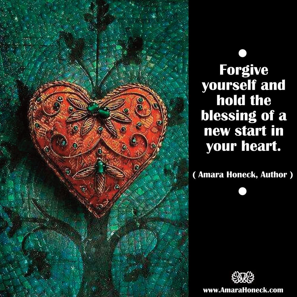 Embroidered Heart | Spiritual Growth Article | Amara Honeck | Tennessee Shaman Consciousness Exploration Teacher