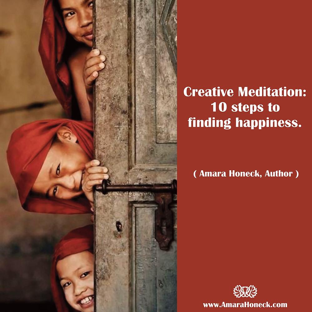 Buddhist Children Laughing | Spiritual Growth Article | Amara Honeck | Tennessee Shaman Consciousness Exploration Teacher