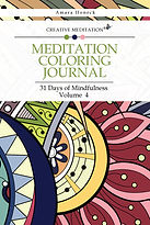 Meditation Coloring Journal Book 4 | Law of Attraction and Manifestation | Tennessee Shaman | Amara Honeck