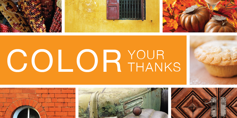 Color Your Thanks