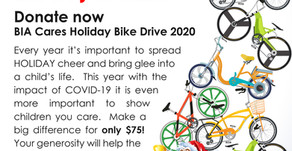 BIA Cares - Bike Donation