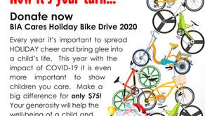 BIA Cares - Bike Donation