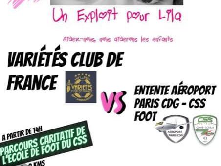 """Match de gala au profit de """"un exploit pour Lila"""""""