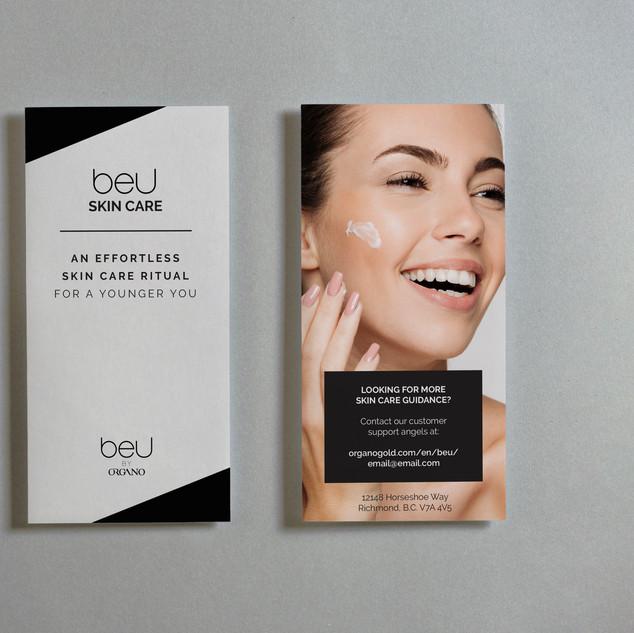 Skincare Brochure - Outside Design