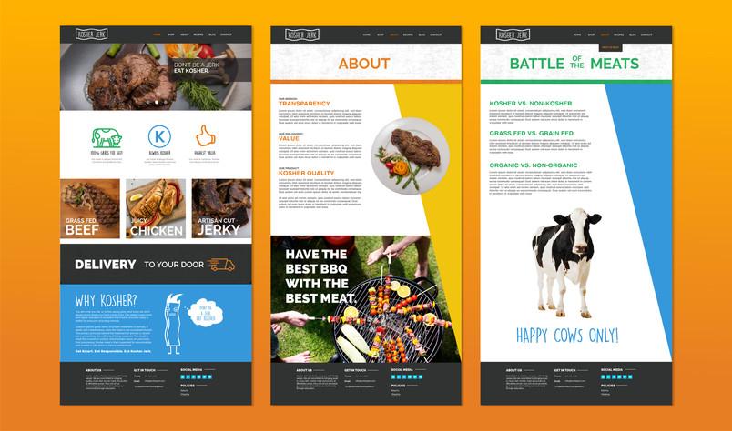 Website Page Designs