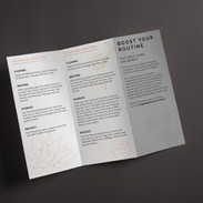 Skincare Brochure - Inside Design