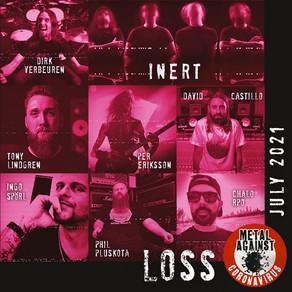 Inert's new single with Dirk Verbeuren (Megadeth), and Per Eriksson (ex-Bloodbath, ex-Katatonia)