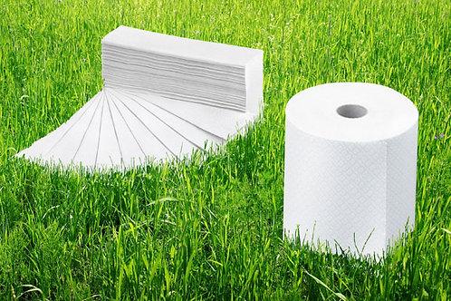 Papierhandtücher Z-Falz, Zellstoff, 2-lagig, 2x18gsm
