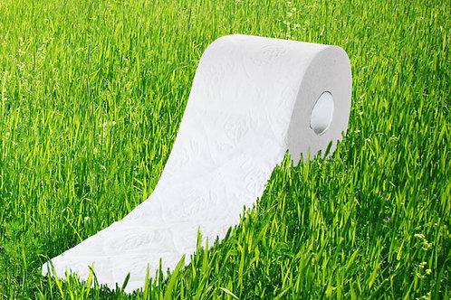 Toilettenpapier Zellstoff,4-lagig,125 Blatt, 13.0, 9 x 10 Rollen