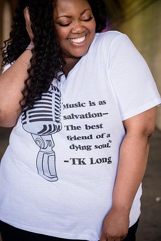 """Music Is..."" Tee"