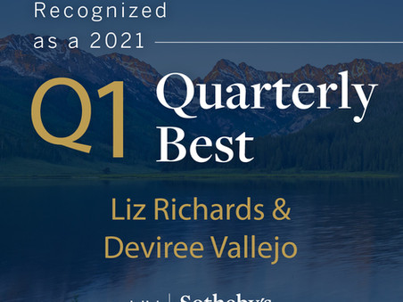 LIV Sotheby's International Realty Recognizes the Firm's Top Producers in Q1