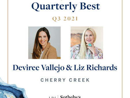 Q3 Quarterly Best   Deviree Vallejo & Liz Richards