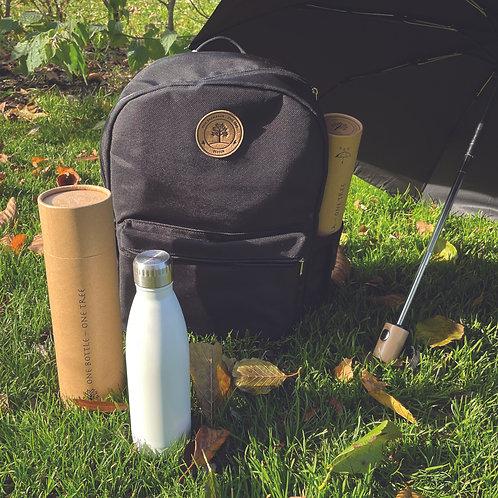TREECK®-Set mit Rucksack, Flasche und Schirm