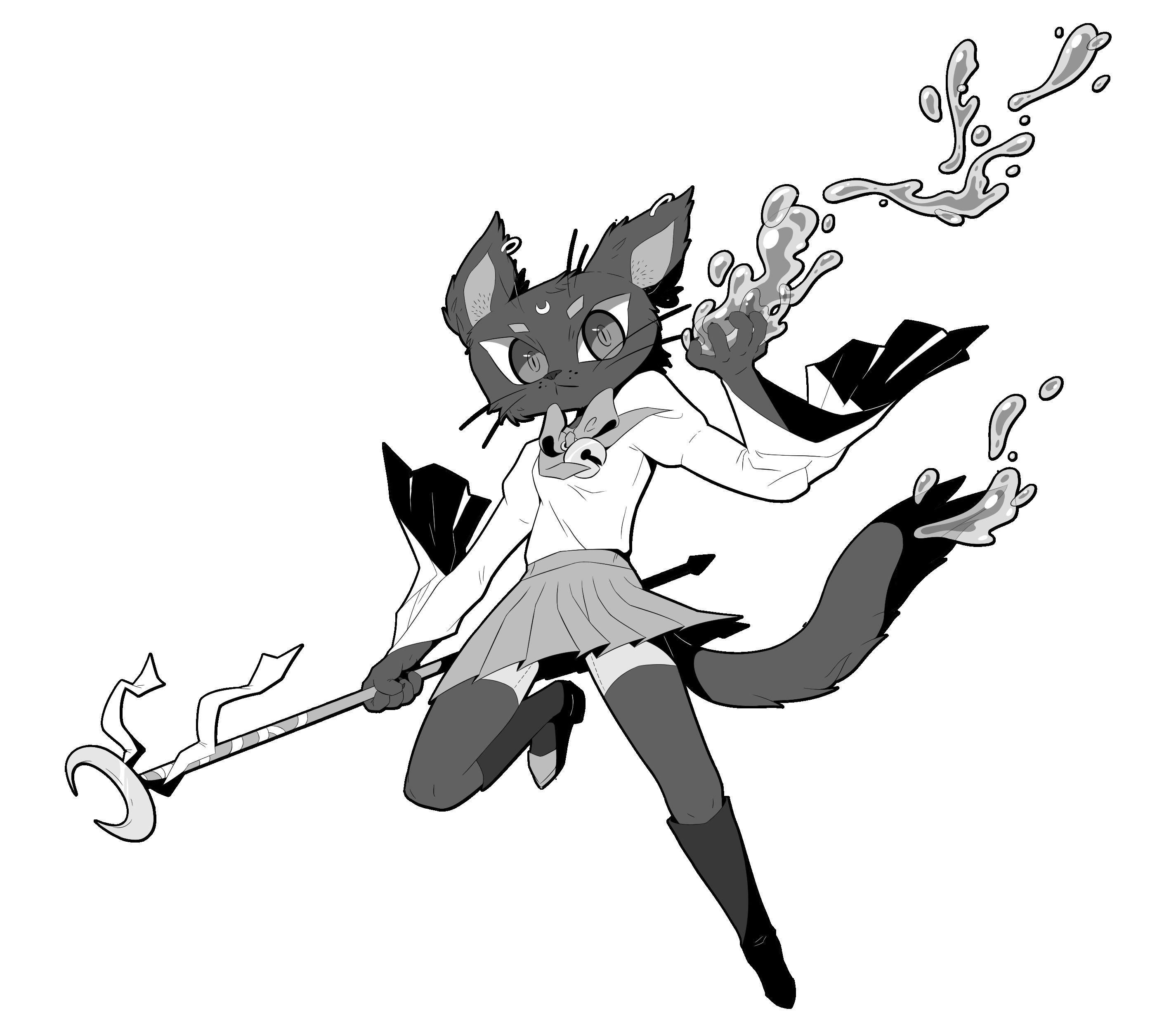 Magical Cat Girl