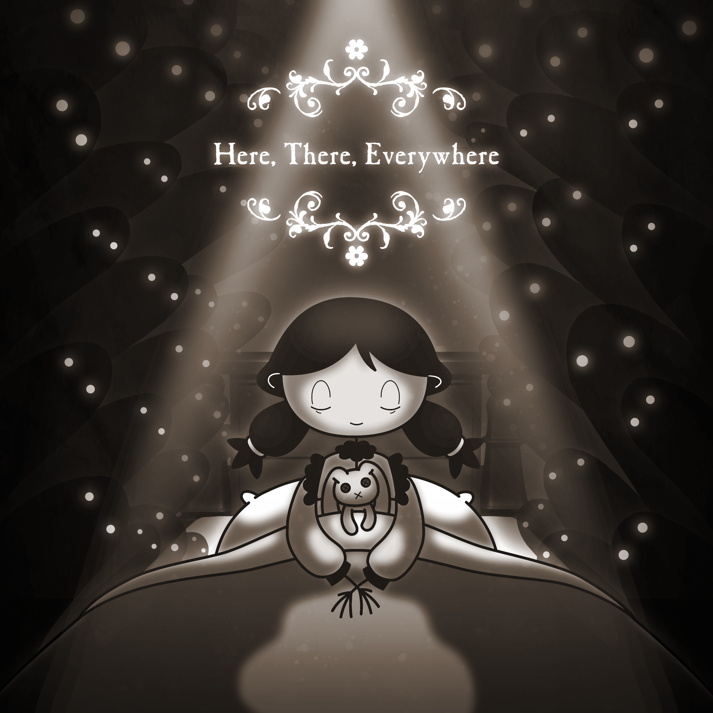 """Here, There, Everywhere"" Poster"