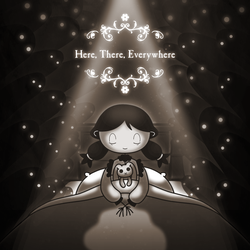 """""""Here, There, Everywhere"""" Poster"""